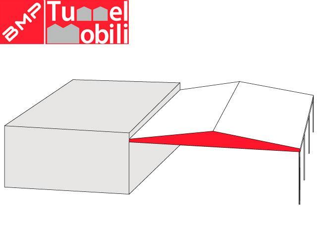 coperture industriali in pvc mobile bifalda sospesa