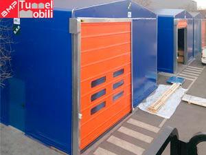 Capannoni mobili industriali in PVC prodotti da B.M.P.