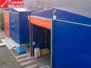 Capannoni Mobili in PVC per il settore industriale prodotti in Emilia Romagna