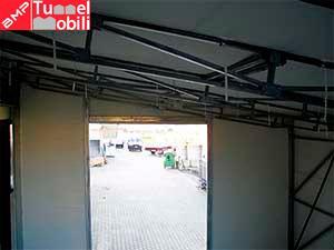 Dettaglio interno coperture PVC