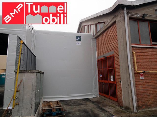 coperture in pvc di BMP Tunnel Mobili in Emilia Romagna