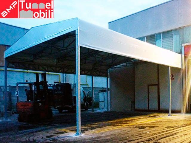 tettoia con coperture pvc Pescara