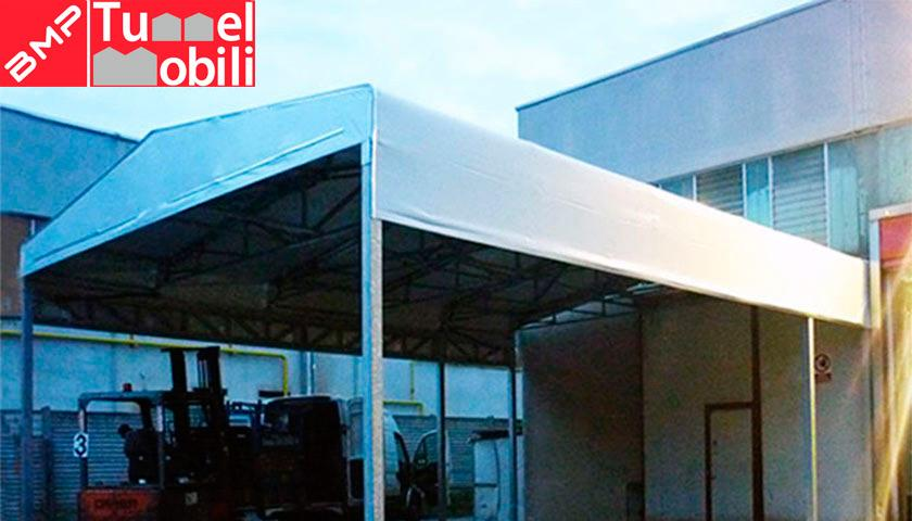 tettoia in pvc Vicenza: installazione BMP coperture mobili Veneto