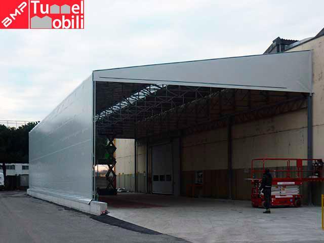 Capannoni in pvc usati vendita coperture pvc di bmp for Kopron capannoni