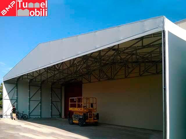 capannoni in pvc usati di bmp coperture mobili