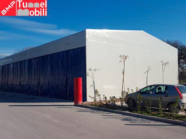 capannoni mobili coperture pvc Milano