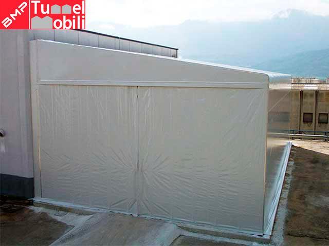 capannoni mobili in valle d'aosta modello laterale