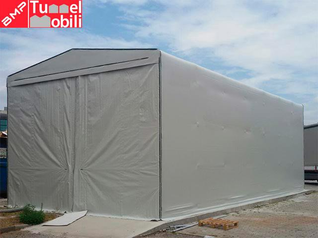 tunnel retrattili in telo pvc