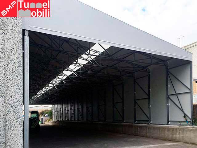 tettoie per capannoni