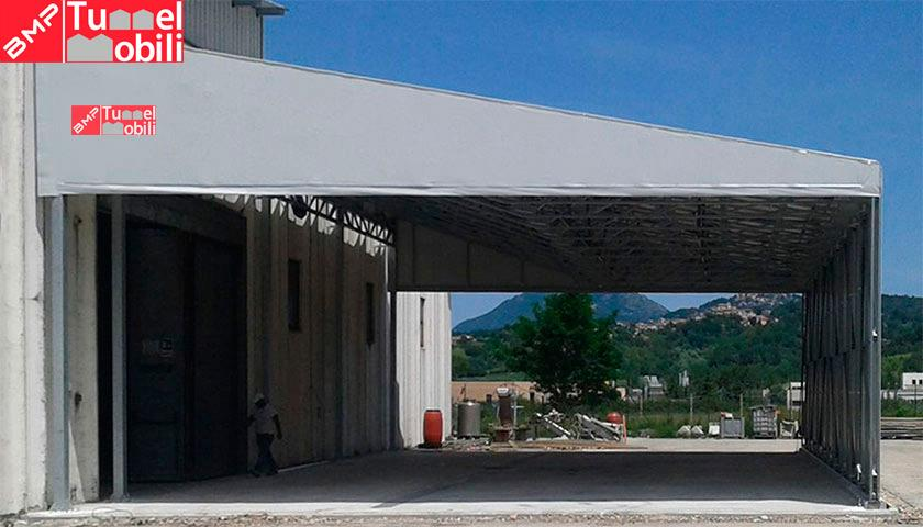 capannoni tunnel mobili in pvc
