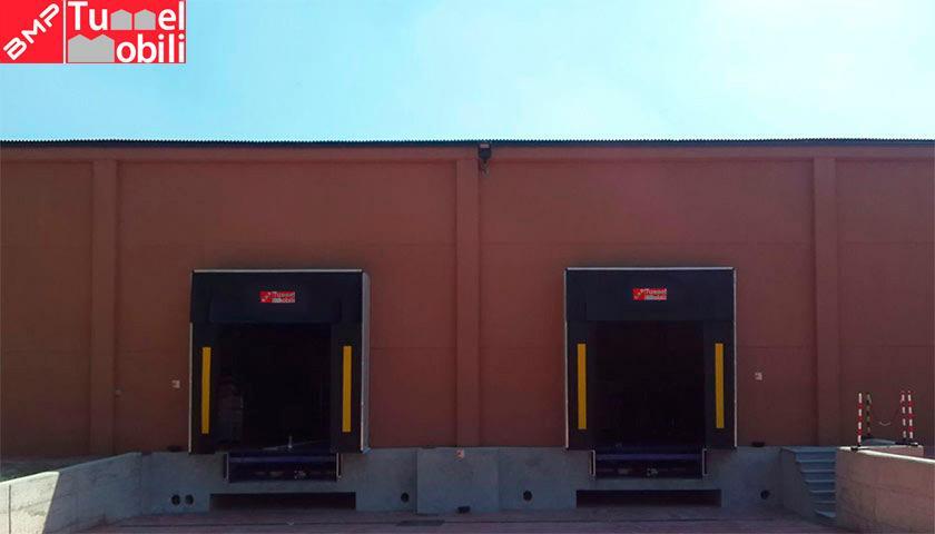 portali sigillanti baie di carico