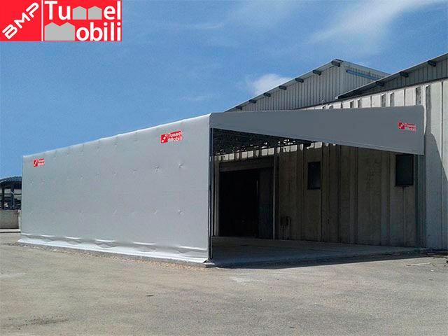 capannoni mobili tettoie pvc