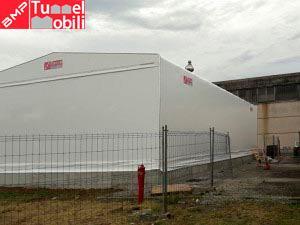 capannone pvc in provincia di Parma