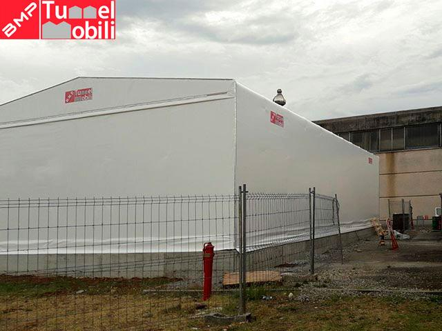 capannone mobile in pvc in Lombardia