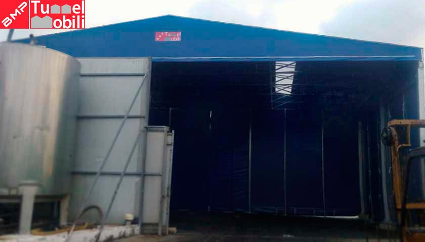 capannoni mobili industrie alimentari