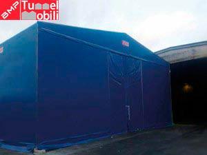 capannoni mobili pvc industriali