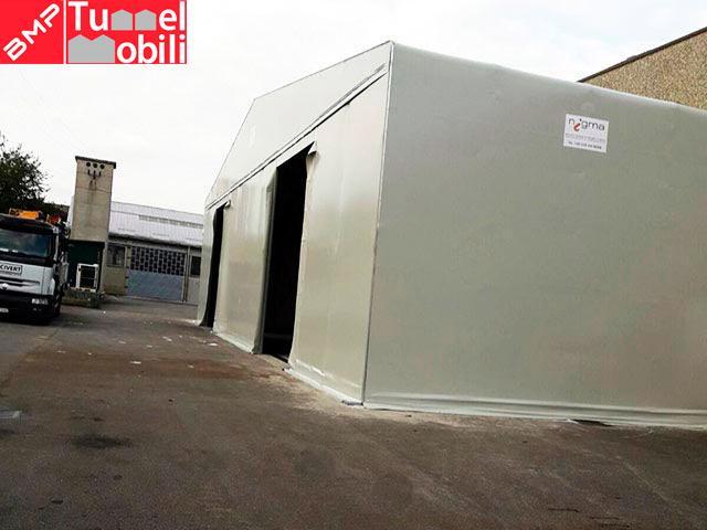 capannoni mobili con accesso mezzi