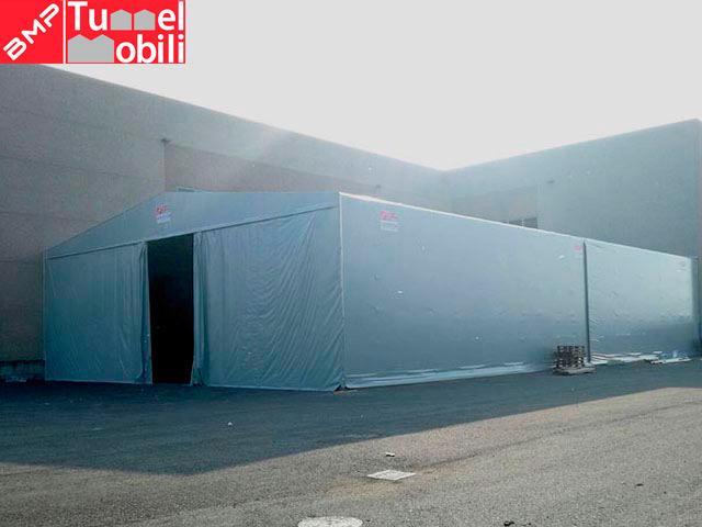 capannoni mobili a Gumello Cremonese ed Uniti