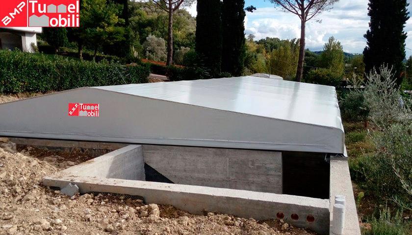 coperture pvc tunnel mobili perugia
