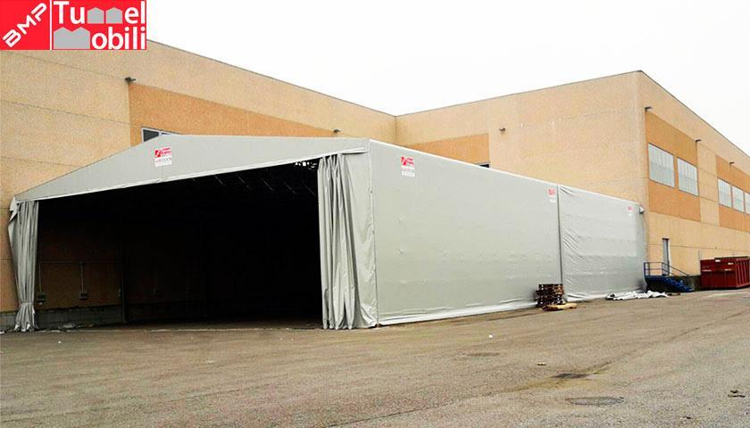 Capannoni mobili a Cremona di Tunnel Mobili
