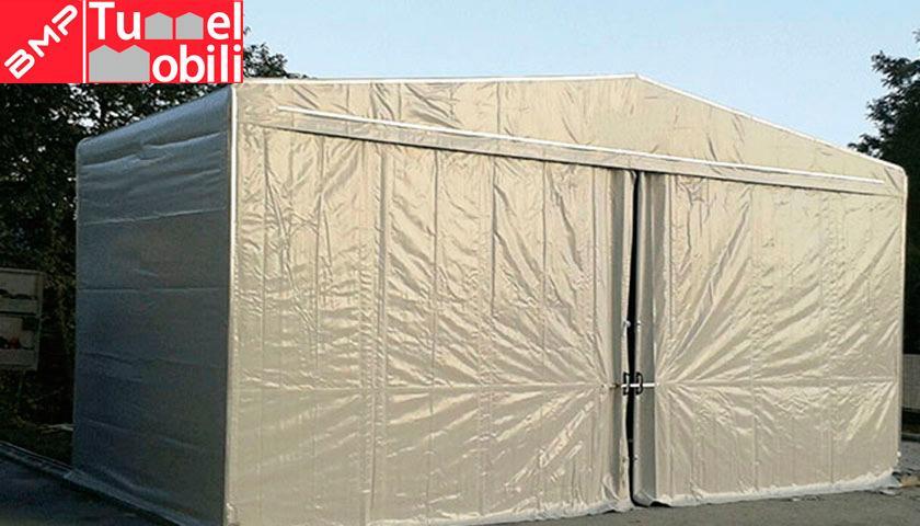 Coperture mobili - nuova installazione Tunnel Mobili Piemonte