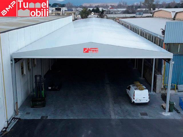 capannoni mobili in pvc grandi dimensioni
