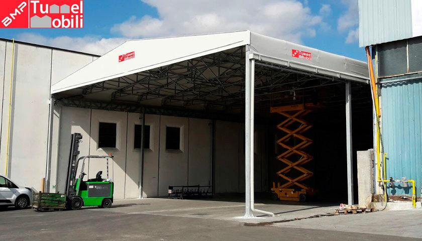 tunnel pvc per aumentare gli spazi aziendali