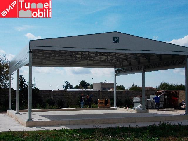 preventivo capannoni mobili in pvc in Toscana