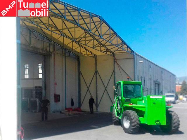 struttura capannoni mobili