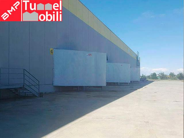 capannoni mobili campania baie di carico