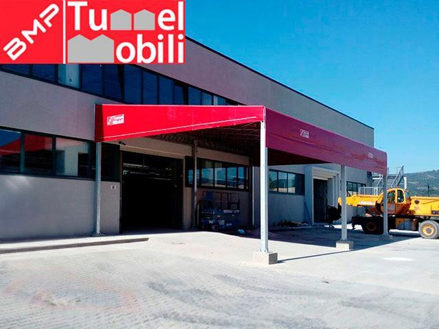 Capannoni mobili in vendita per tettoia laterale