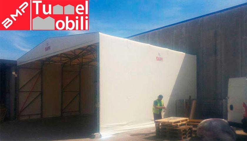 installazione tunnel mobili Toscana