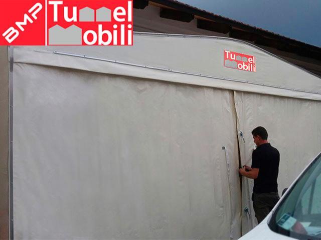 tunnel pvc conad