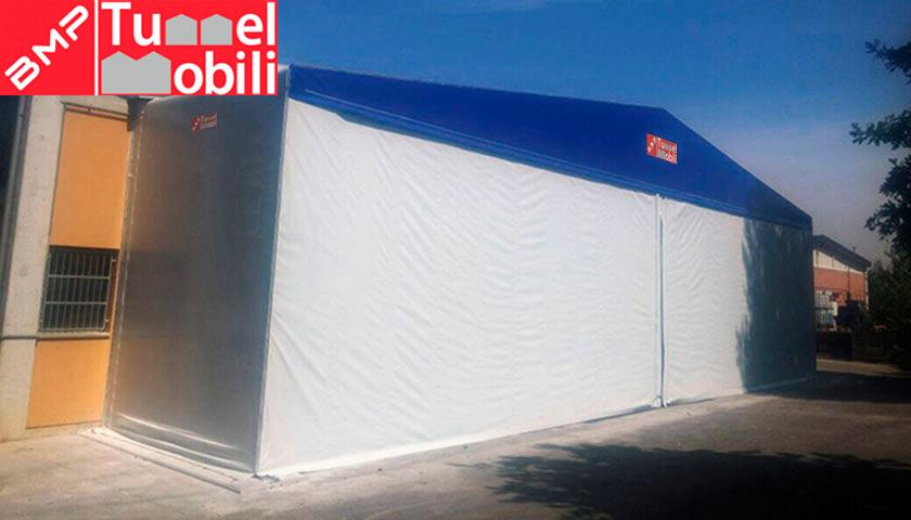 tunnel retrattile pvc Bologna