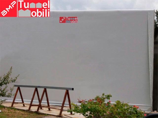 copertura pvc tunnel mobili