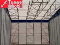 interno capannone mobile pvc
