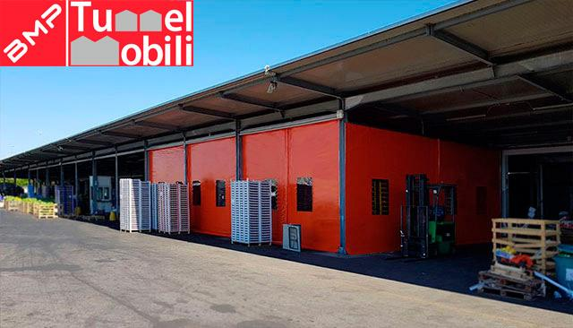 teli pvc copertura mobile Campania