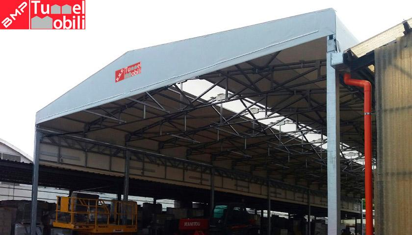 Un tunnel pvc per aumentare gli spazi aziendali di for Subito mobili torino