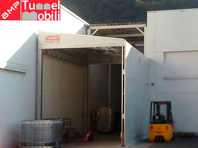 tunnel pvc monopendente
