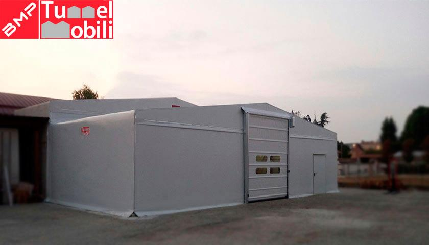 capannoni mobili senza concessione edilzia