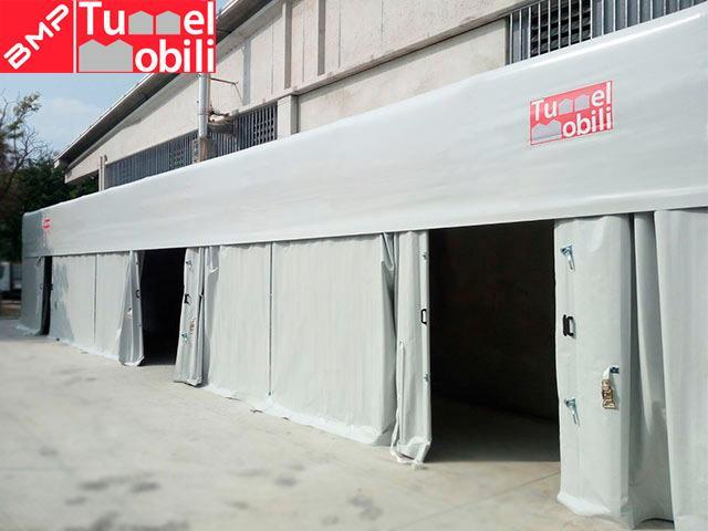 Coperture mobili per i magazzini di novastamp in provincia for Magazzini mobili