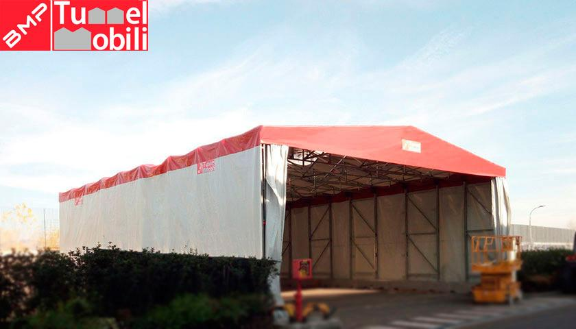 tunnel industriali in pvc