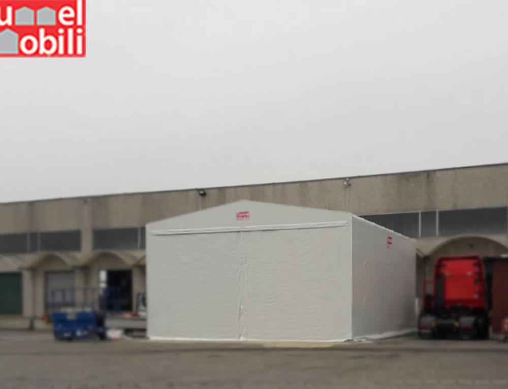 Le coperture pvc Tunnel Mobili presso l'azienda CO.MA.TRA. Trasporti.