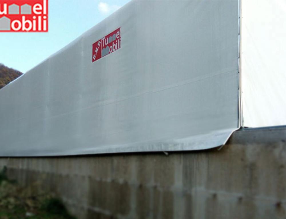 I tunnel pvc firmati Tunnel Mobili arrivano in provincia di Caserta