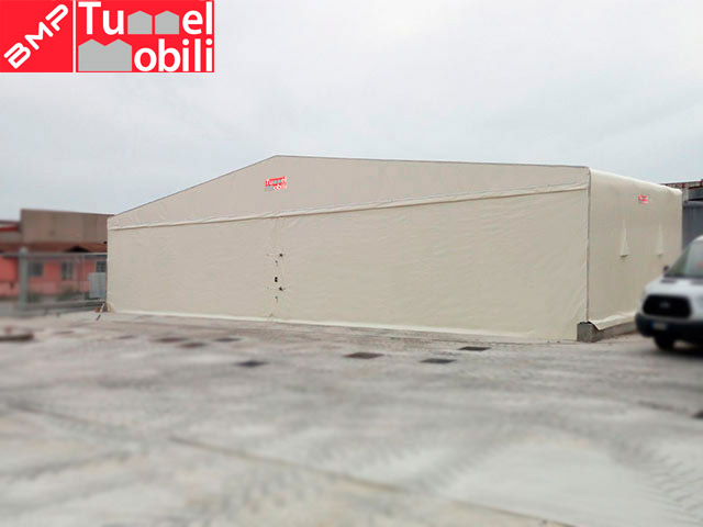 capannoni copertura in tela pvc