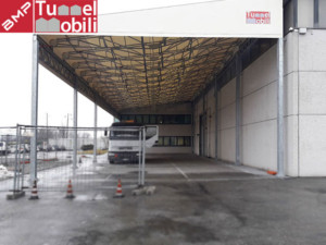 tettoia industriale pvc