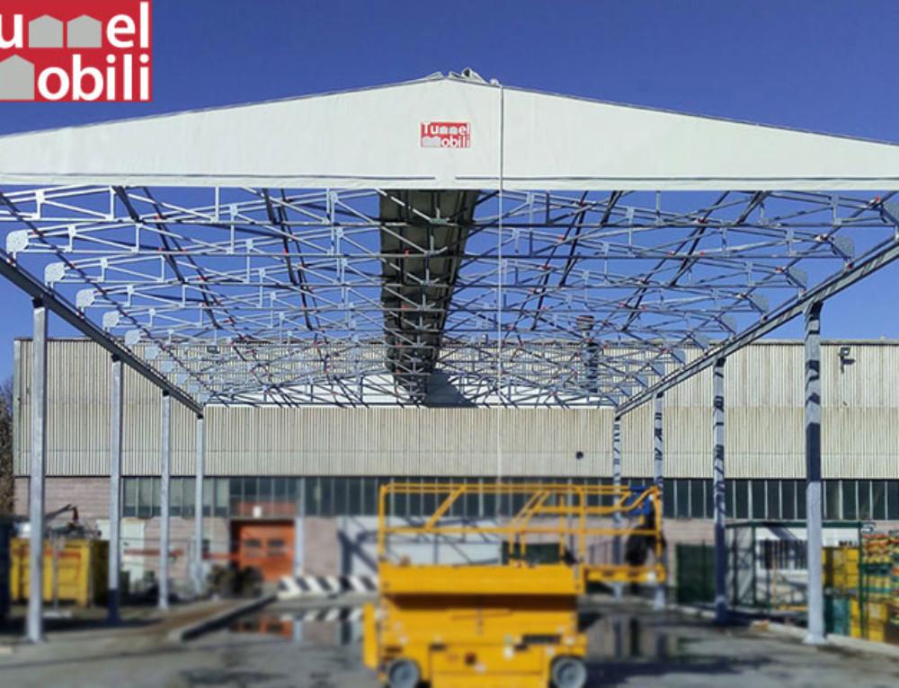 Michelin Italiana S.p.a. sceglie le tettoie pvc di Tunnel Mobili