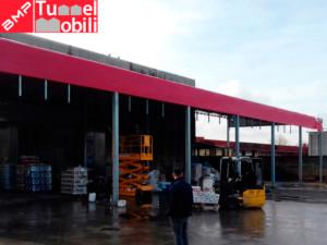 tettoia industriale Napoli