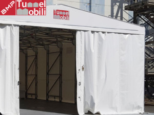 tunnel in telo pvc