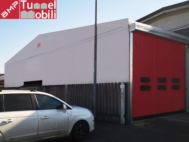 capannone mobile pvc per magazzino